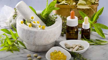 Natural Therapies have a role.